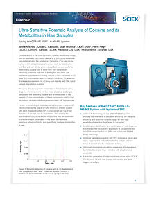 Ultra-Sensitive-Forensic-Analysis-of-Cocaine-and-its-Metabolites-in-Hair-Samples-App Note