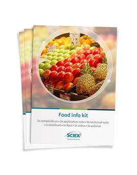 SCIEX Food infokit