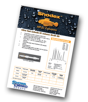 Shodex_HPLC_columns