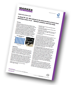 Markes-trace-level-phthalate-esters-in-air