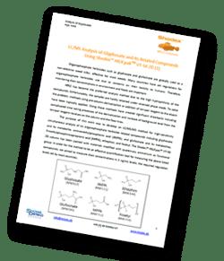 Shodex-LC-MS-analysis-of-glyphosate